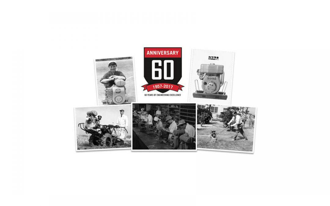 Kawasaki Engines 60 år